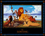 The Lion King Movie Kunstdrucke