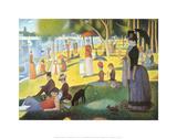A Sunday on La Grande Jatte 1884, 1884-86 Schilderij van Georges Seurat