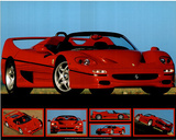 Ferrari F-50 (Photos) Sport Poster Photo