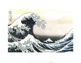 The Great Wave off Kanagawa 1 Poster by Katsushika Hokusai