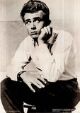 James Dean (Close Up) Movie Poster Print Photo