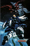 Mobile Suit Gundam Wing TV Poster Print Pôsters
