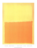 Orange And Yellow Posters par Mark Rothko