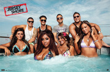 Jersey Shore Group Cast Hot Tub Season 3 TV Poster Print Poster