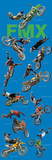 Freestyle Motocross (Riders in Air, FMX, Door) Sports Poster Print Print