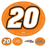 Tony Stewart (20) Repositional Poster Wall Decal
