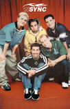 N&#39; Sync (Group, Red) Music Poster Print Prints