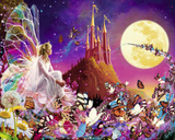 Fairy Dreams (Butterflies) Art Poster Print Print
