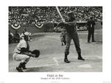 Hulton/Getty (Fidel Castro at Bat) Art Poster Print Prints