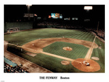 Ira Rosen Boston Red Sox The Fenway Night Sports Poster Print Photo