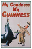 My Goodness My Guinness (Art Deco) Advertisement Poster Prints