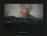 Adrian Warren The Power of Nature Kimanura Eruption Photo Print Poster Masterprint