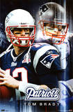New England Patriots Tom Brady Sports Poster Print Posters