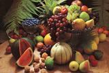 Frutta Fresca (Fresh Fruit Still Life) Art Poster Print Plakaty
