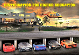 Justification for Higher Education 3-D Lenticular Poster Posters