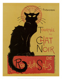 Tournee du Chat Noir Art by Th&#233;ophile Alexandre Steinlen