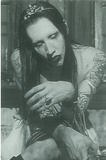 Marilyn Manson Antichrist Superstar Postcard Prints