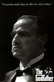 The Godfather Movie Marlon Brando Offer He Can&#39;t Refuse Poster Print Posters