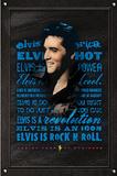Elvis Presley (Rock N Roll) Music Poster Print Posters