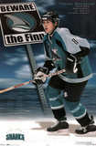 San Jose Sharks Teemu Selanne The Finn Sports Poster Print Photo