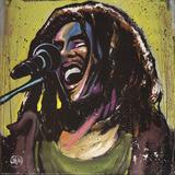 David Garibaldi- Bob Marley Jams Affiches par David Garibaldi