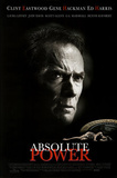Absolute Power Movie Clint Eastwood Gene Hackman Ed Harris Original Poster Print Posters