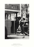 Trevor Watson Bus Stop Photo Print Poster Affiches