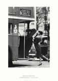 Trevor Watson Bus Stop Photo Print Poster Kunstdrucke