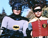 The Dynamic Duo Batman and Robin TV Poster Print Photo