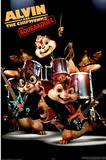 Alvin and the Chipmunks: The Squeakquel Movie (Band) Poster Print Print