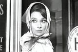 Audrey Hepburn Movie (Scarf) Poster Print Poster