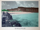 Dry Tortugas National Park (Fort Jefferson) Art Poster Print Posters