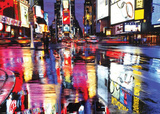 Times Square (Reflections, Huge) Art Poster Print Posters
