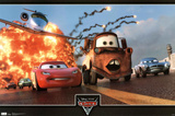 Cars 2 Movie Action Trio Poster Print Posters