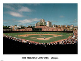 Ira Rosen Chicago Cubs The Friendly Confines Sports Poster Print Poster