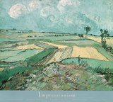 Vincent Van Gogh (Plains of Auvers) Art Poster Print Photo