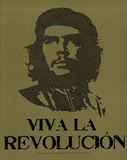 Che Guevara Viva La Revolution UN Speech Text Art Print Poster Photo