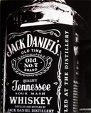 Jack Daniel's Bottle Old No 7 College Poster Billeder