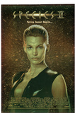 ORIGINAL Species II Movie Natasha Henstridge 3-D Lenticular Poster Print Posters