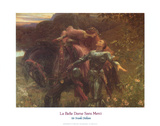 La Belle Dame Sans Merci Kunst af Sir Frank Dicksee