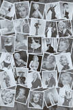 Marilyn Monroe (Black & White Collage) Movie Poster Print Photo