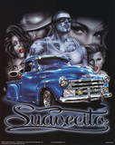 Suavecito (Group & Car) Art Poster Print Prints