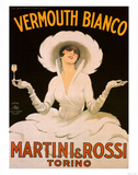 Vermouth, Martini & Rossi Poster af Marcello Dudovich