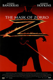 The Mask of Zorro Movie, Silhouette, Original Poster Print Prints