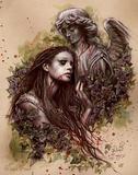 Victoria Frances (El Amor) Art Poster Print Poster