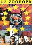 U2 Zooropa Music Poster Print Photo