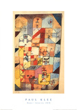 Haus-Inneres Prints by Paul Klee