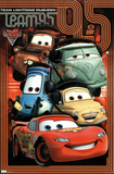 Cars 2 Movie Pit Crew Poster Print Poster