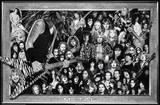 Metal (Heavy Metal Collage) Music Poster Print - Posterler