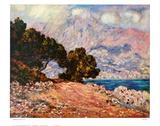 Cap Martin Affiches par Claude Monet